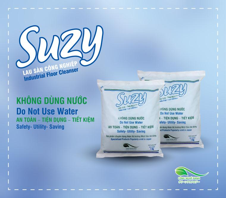 INDUSTRIAL FLOOR CLEANING POWDER SUZY